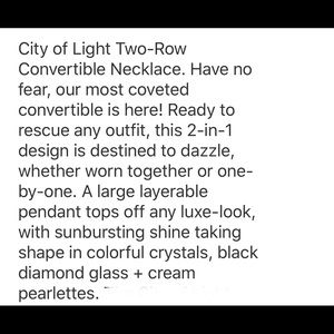Chloe + Isabel Jewelry - City of Light Two-Row Convertible Necklace